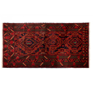 "7' x 3'9"" Tribal Afghan Baluch"