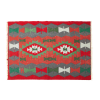 "5'5"" x 3'9"" Turkish Red Kilim"